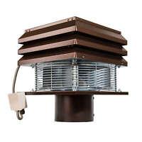 CHIMNEY FAN FLUE round 20cm Exhaust chimney draft Extractor Professional 220Volt