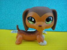 100% ORIGINAL Littlest Pet Shop Dachshund Dog #675 a