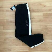 Nike Men's NSW Sportswear JDI Heavyweight Pants Joggers - Black/White - Medium M