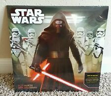 *2 Star Wars, 16 month 2016 Calendars* The Force Awakens, Kylo Ren. NEW & SEALED