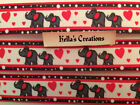 "Elephants 7/8"" Grosgrain Ribbon Sold by 2 M - Craft - Hair bow- Dummy clips"