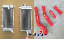 For YAMAHA YZF450 YZ450F WRF450 WR450F 2007-2009 2008 Aluminum Radiator & Hose
