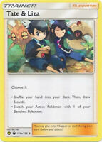 Tate & Liza 148A/168 Trainer Card (x4 Cards, Playset) Pokemon Celestial Storm