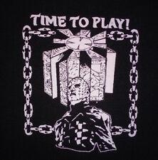 PATCH - Hellraiser - canvas screen print HORROR - Pinhead Clive Barker Cenobites