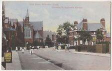 High Road Willesden Green, London 1906 Postcard B835