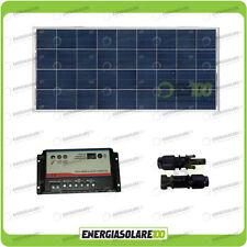 Kit Solare Camper 150W 12V regolatore di carica doppia batteria REGDUO MC4
