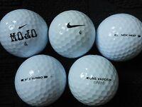 """20  NIKE  """"MIXED MODELS"""" -  Golf Balls - """"A""""  Grade."""