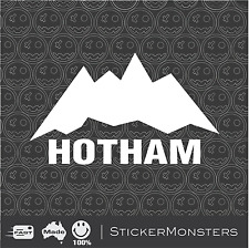Mt HOTHAM Skiing Sticker Decal 130mmW SKI X Car Van Laptop Rossignol K2 Head
