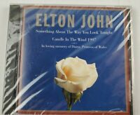 Elton John CD Princess Diana The Way You Look/Candle In The Wind Factory Sealed