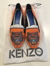 Kenzo Tiger Loafers (EU 38.5) Bright Orange