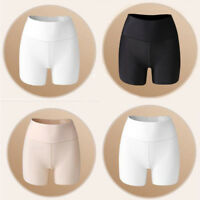 Summer Seamless Silk High Waist Short Tights Skirt Under Safety Pants Underwear