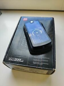Original Motorola ROKR E8 - 2GB - Black Retro Mobile Phone Collectible state