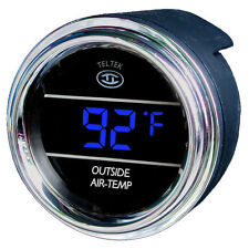 Teltek Auto Thermometer Gauge for Trucks and Cars for any semi, pickup, or cars