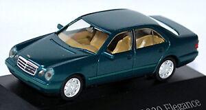 Mercedes Benz E-Class W210 E320 Elegance 1995-99 Tourmaline Green 1:87