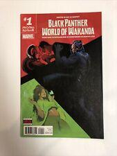 Pantera Negra mundo de Wakanda (2016) #1 (casi como nuevo) Disney