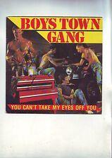 pochette de 45 tours ( pas de disque ici) boys town gang - tres bon etat