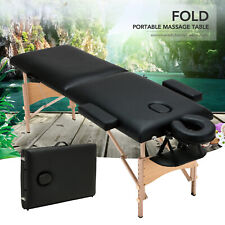 """84""""L Foldable Portable Massage Table Facial SPA Beauty Bed Tattoo w/ Carry Case"""