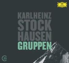Karlheinz Stockhausen : Karlheinz Stockhausen: Gruppen CD (2012) ***NEW***