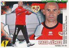 02 ENTRENADOR PACO JEMEZ  ESPANA RAYO VALLECANO STICKER LIGA 2016 PANINI