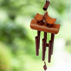 6 Tubes Bamboo Wind Chime Ornament