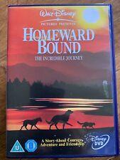 Homeward Bound DVVD 1993 Walt Disney Incredible Journey Remake Movie
