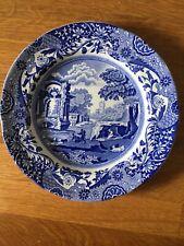 Spode blue Italian Teller Rund, 19cm