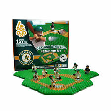 OAKLAND ATHLETICS GAME TIME FIELD SET 10 FIGURES 157 PC TRAINER CART 135 PC OYO