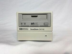 C5687A HPHP HEWLETT PACKARD DAT40 EXTERNAL SCSI TAPE DRIVE