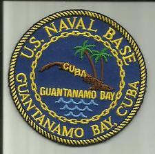 UNITED STATES NAVAL STATION GUANTANAMO BAY CUBA U.S.NAVY PATCH GITMO SOLDIER US