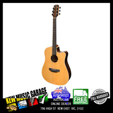 MARTINEZ SOUTHERN STAR SERIES SPRUCE SOLID TOP ACOUST-ELEC DREADNOUGHT GUITAR