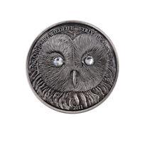 Creative Souvenir Gifts Owl Commemorative Mongalia Endangered Animal Coin