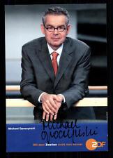 Michael Opoczynski ZDF Autogrammkarte Original Signiert ## BC 26057