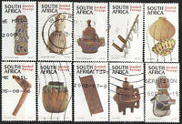 SOUTH AFRICA 1997 CULTURAL EXPERIENCES COMPLETE POSTAL USED SET 0382