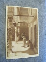 Early postcard - Palace servant - India