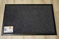 Fußmatte Türmatte Astra Graphit 40 Grau 90x150 cm