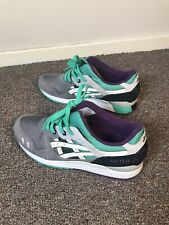 Asics gel lyte iii uk 9.5 Used-Excellent condition. Grey, green and purple.