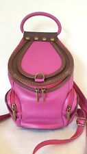 Tuscany Leather Italy small pink Backpack/Shoulder Bag BNWT
