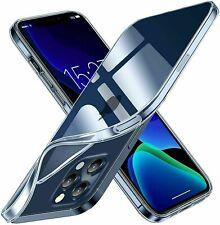 COVER CUSTODIA per PER APPLE  IPHONE 12 Mini / Pro / Max Case Clear Silicone