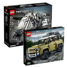 LEGO Technic Land Rover Defender & Liebherr R 9800 Excavator Combo Twin Pack