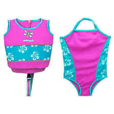 Swim School 2 pc Swim Trainer and Matching Swimsuit Level 2 Age 2-4yrs 33lbs Max