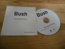 CD Pop Bush - The Science Of Things (12 Song) Promo MOTOR UNIVERSAL cb
