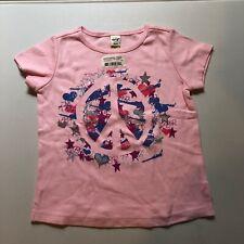 NWT Copart Racing Girls Pink Racing Shirt Size Youth XS XSmall 6x