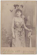 Jane Turny ? par Professeur Stebbing Vintage citrate ca 1910