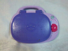 """Leap Frog Pink & Purple Learning My Own Laptop 9.5"""" Toy Educational"""