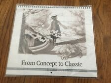 "D23 Calendar ""From Concept To Classic"" 23 Months 2012-2013 - Sealed - New"