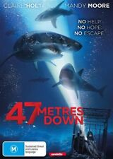 47 METRES DOWN DVD, NEW & SEALED, 2017 RELEASE, REGION 4. FREE POST