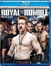 WWE - Royal Rumble 2012  25th Anniversary (Blu-ray, 2012) New  Region B