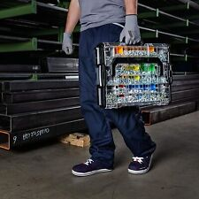 BOSCH SORTIMO Systembox L-BOXX 102 anthrazit Deckel transparent Sortimentskoffer