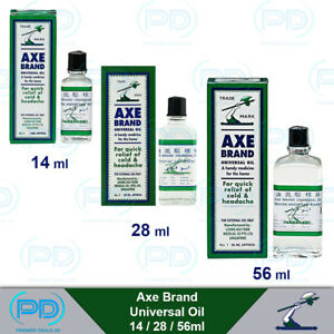 Axe Brand Universal Natural Pain Relief Singapore Medicated Oil  14 / 28 / 56ml