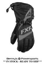 FXR Men's Fuel Glove Insulated Snowmobile Winter Riding Snow Waterproof Warm